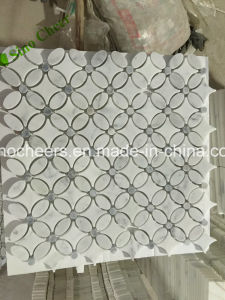 Lowest Price Bianco Carrara White Marble Floor Tiles and Wall Cladding Price pictures & photos