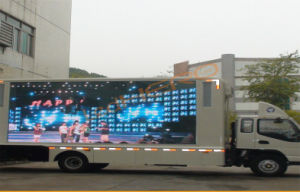 Bus Advertising Outdoor LED Display with High Performance
