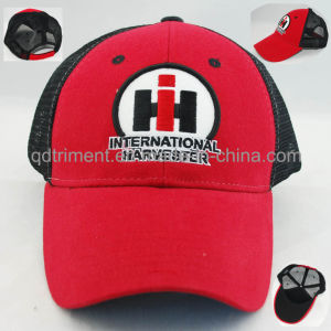 Custom Felt Applique Embroidery Leisure Mesh Trucker Hat (TRNT048) pictures & photos
