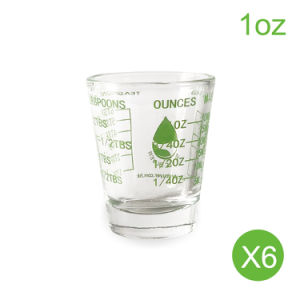 style measuring shot glass 1 oz mini measurement multi purpose liquid heavy glass - How Many Ounces In A Shot Glass