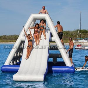 Inflatable Floating Water Tower, Adult Game Inflatable Water Slide for Water Park D3040 pictures & photos
