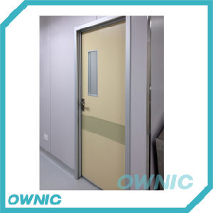 Alu Alloy Frame Manual Swing Door Ward Door pictures & photos