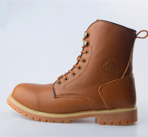 60bcbb184f7 Industrial Leather Men Safety Shoes Industrial Safety Boots, Soft Sole  Safety Boot HD. 0853