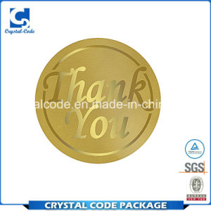 Durable Modeling Gold Foil Stickers Labels