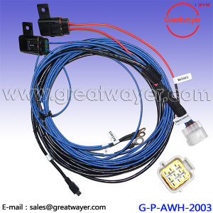yazaki 9 pin connector 5a fuse holder supension wiring harness