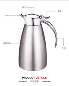 Double Layer Ss Vacuum Thermos Flask Coffee Mug Hot Water Bottle From Manufacturer
