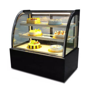 Double Cake Display Cabinet Chiller / Cake Display Fridge