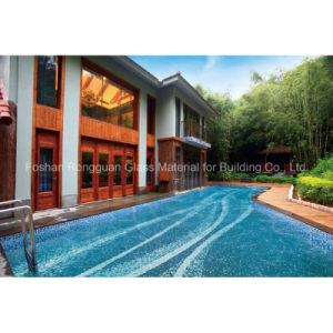 Swimming Pool Building Material Made of Glass Mosaic Artistic Design pictures & photos