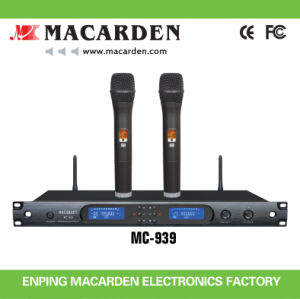 Latest New Pll UHF Wireless Microphone (MC-939)