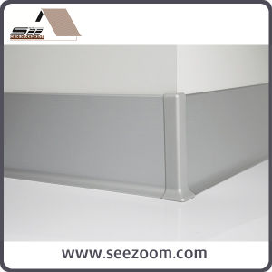 New Aluminium Metal Ceramic Skirtingboard for Any Floor