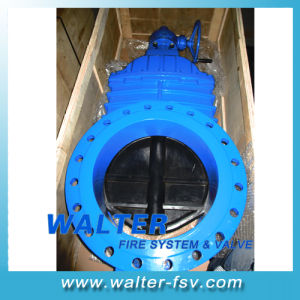 Dn800 Cast Iron Gate Valve of Gearbox Op. pictures & photos