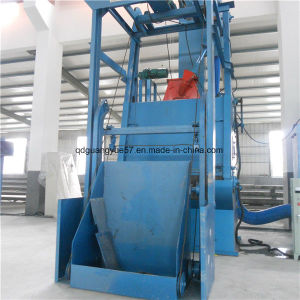 Tumble Wheel Shot Blasting Machine with Rubber Belt pictures & photos