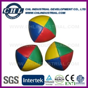 5cm 4 Panels Manufacturer Juggling Ball with Logo Printing
