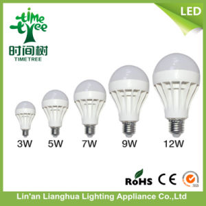 Cheap LED Bulb 3 Watt 5 W 7W 9watt 12W 15W with Plastic Body and Integrated Ballast PCB pictures & photos