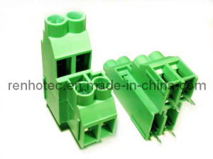 Hot Saling Green 6.35mm Terminal Block Connector pictures & photos