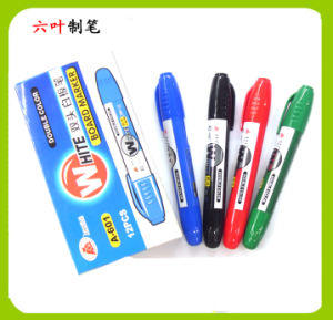Two Head Jumbo Whiteboard Marker Pen (A-601) , Dry Eraser Pen
