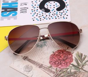 Hot Selling Brand Name Customized Polarized Classic Metal Sunglasses for Man/Woman (8044)