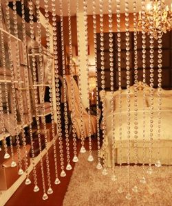 House Decoration of Glass Crystal Beaded Curtain pictures & photos