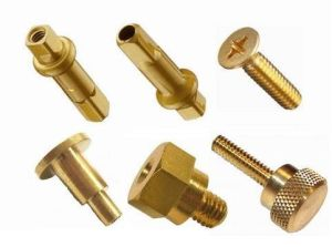 Custom Electrical Equipment Brass Stud & Bolt pictures & photos