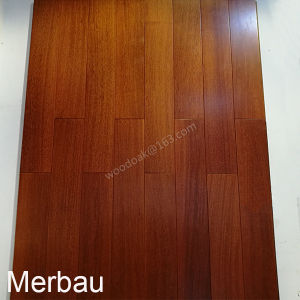 Merbau Flooring / Wood Flooring Merbau with Natural Color