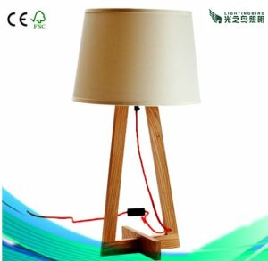 Lighting Decoration Wooden Table Lamp