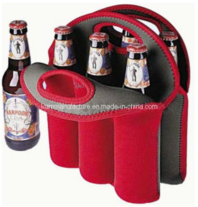 Promotional 6 Bottles Beer Cooler Bag pictures & photos