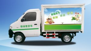 China Electric Mini Truck, Mobile Store,