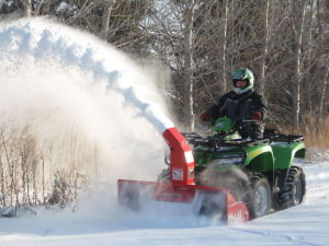 ATV Snowblower pictures & photos
