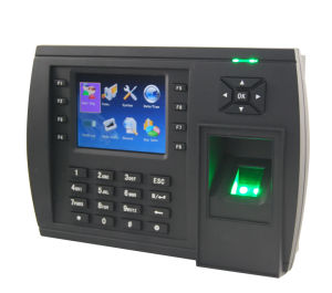Biometric Fingerprint Time Attendance Clock with GPRS (TFT500) pictures & photos