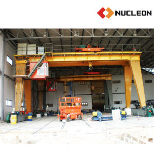 Ce Certified Outdoor Lifting Solution Double Girder Gantry Winch Crane 30 Ton pictures & photos