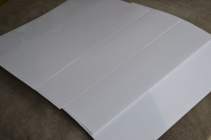 White Pet Film for Inkjet Media, Advertising Material pictures & photos