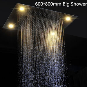 Shower Head Four Function Waterfall Rainfall Electricity Shower Head