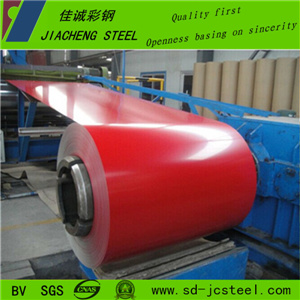 Shandong Dx51d Pre-Painted Galvalume Steel Coil for Building