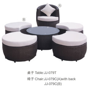 Outdoor Furniture, PE Rattan Furniture, (JJ-079TC)