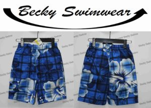 Men′s Sublimation Print Beach Shorts