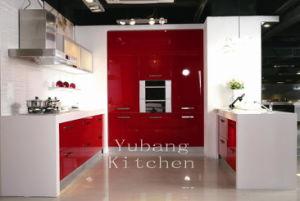 Baked Paint Kitchen Cabinet (M-L79)