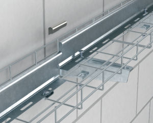 China 50mm Height Wire Basket Cable Tray - China Tee for Cable Tray ...