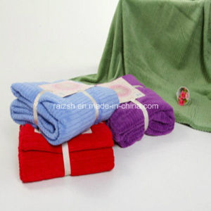 Spring Jacquard Plush Blanket Coral Fleece Blanket for Promotions