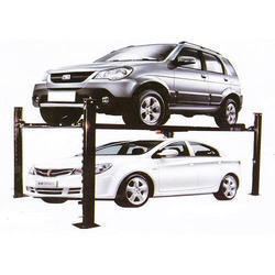 Hydraulic Four Post Car Parking Lift for Home Garage