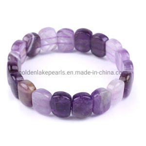 Natural Purple Amethyst Crystal Round Gemstone Beads For Jewelry Making 4-12mm