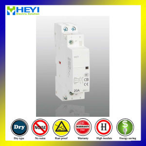 20A Household Modular Contactor 2p Electrical Type 2no for New Design pictures & photos
