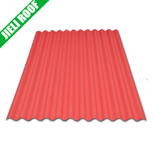 China Colored Clear Plastic Corrugated Roofing Sheet - China ...