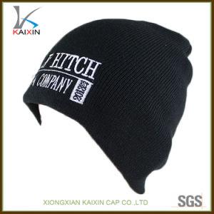 55a215425b China Custom Men Plain Winter Hat Embroidered Beanies - China Beanie ...