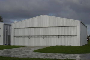 Light Frame Construction Design Steel Structure Airplane Hangar pictures & photos