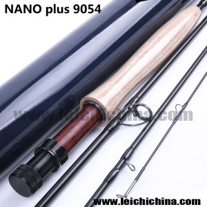 High Quality Nano Plus 9FT 4 Section 40t+46t Toray Carbon Fly Rod Blank pictures & photos