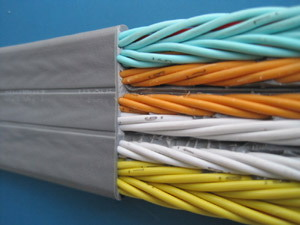 CE PVC Flat Traveling Cable (IEC60227-6)