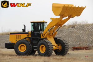China 6ton Zl60 Large Wheel Loader with Ce Certificate pictures & photos