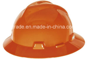 Full Brim Protective Hard Hat Helmet Work Safety Gear for Head Protection