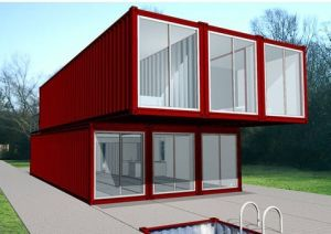 ISO9001: 2008 Certified Modular Container House (DG5-066) pictures & photos