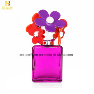 Classial Femele Perfume with Flower Cap